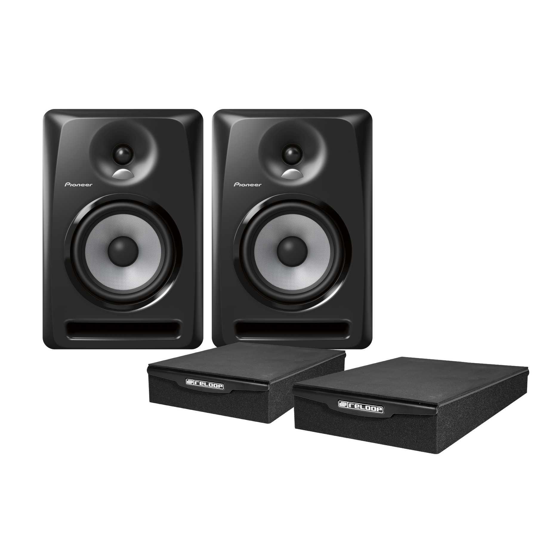 Pioneer S-DJ60X Monitor Pad Bundle 240977
