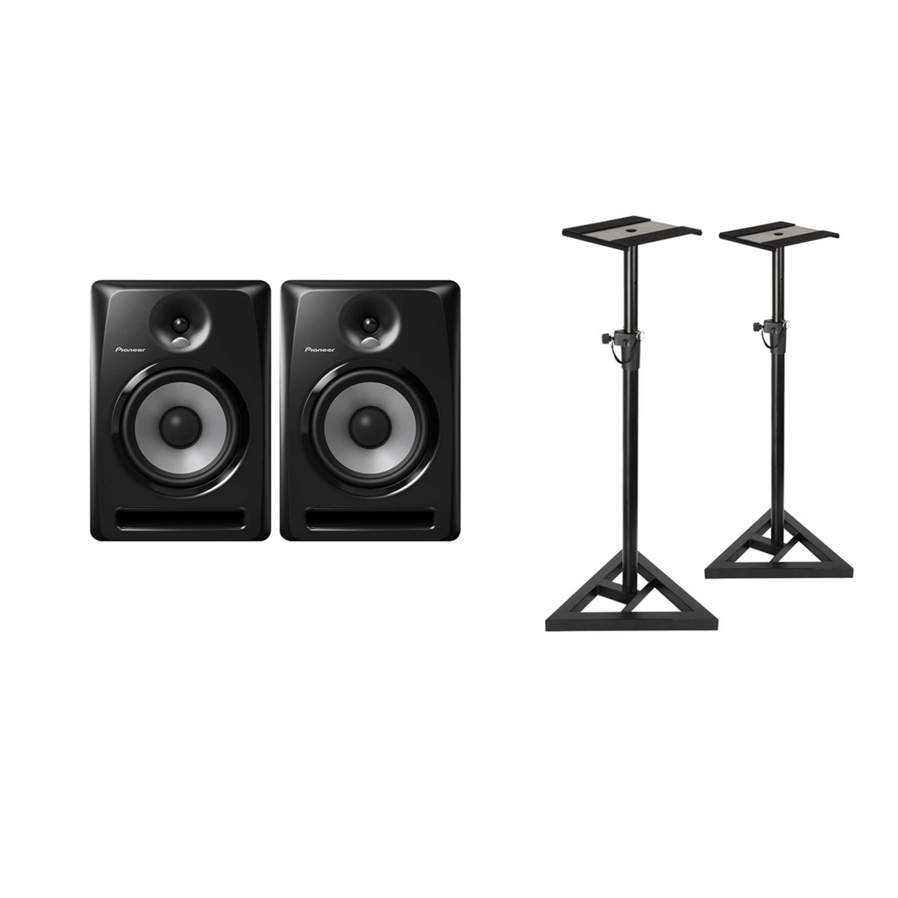 Pioneer S-DJ50X Monitor Stand Bundle 240979