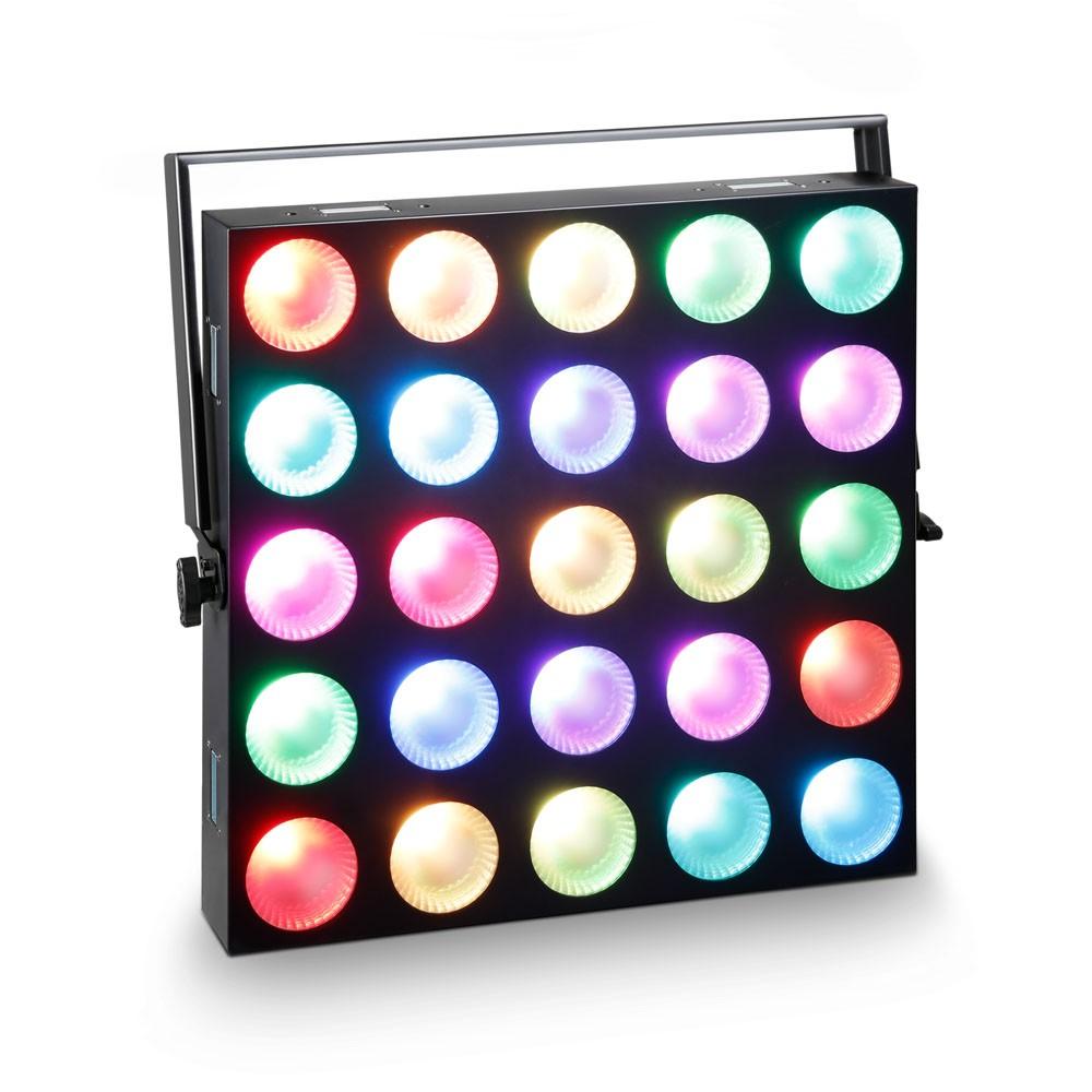 Cameo MATRIX PANEL 10 W RGB 5 x 5 RGB LED Matrix Panel mit Single Pixel Control 240998