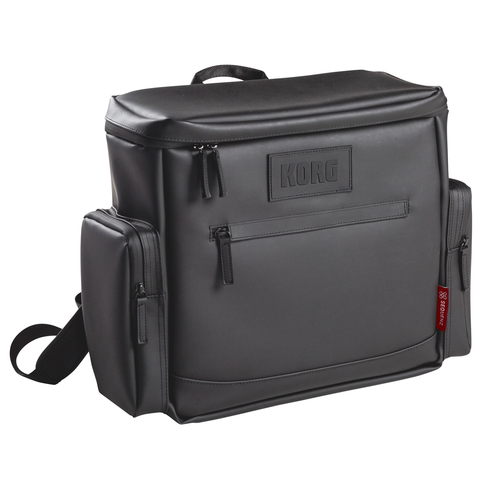 Sequenz Korg MP-DJ1 Tasche für Schallplatten, Laptop und Zubehör schwarz 242321