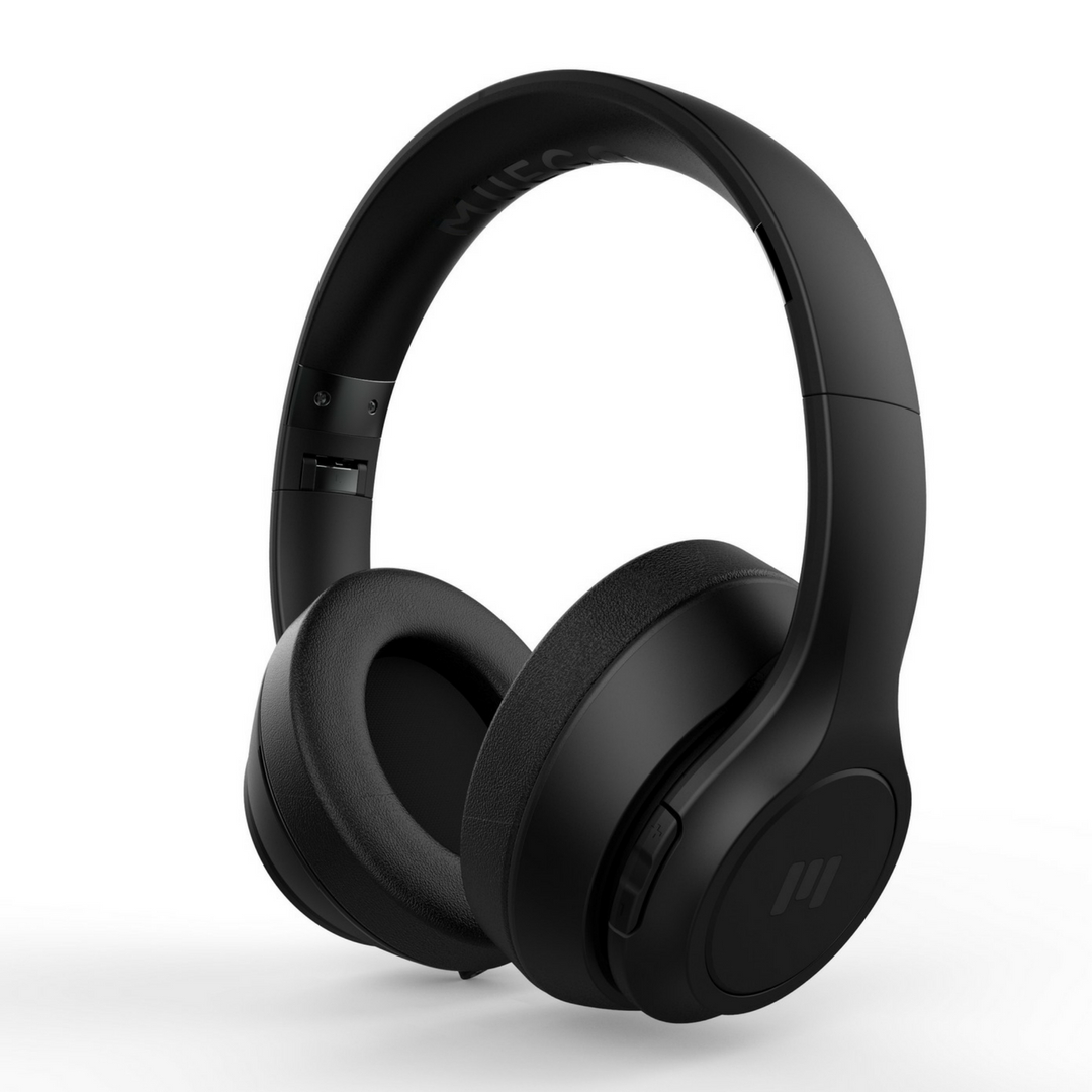 MIIEGO BOOM Premium Wireless On-Ear Kopfhörer Schwarz/Schwarz 242463
