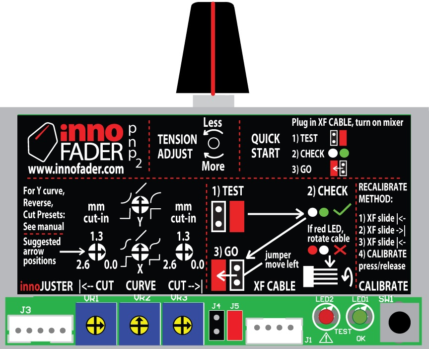 Audio Innovate AudioInnovate Innofader PNP 2 242614