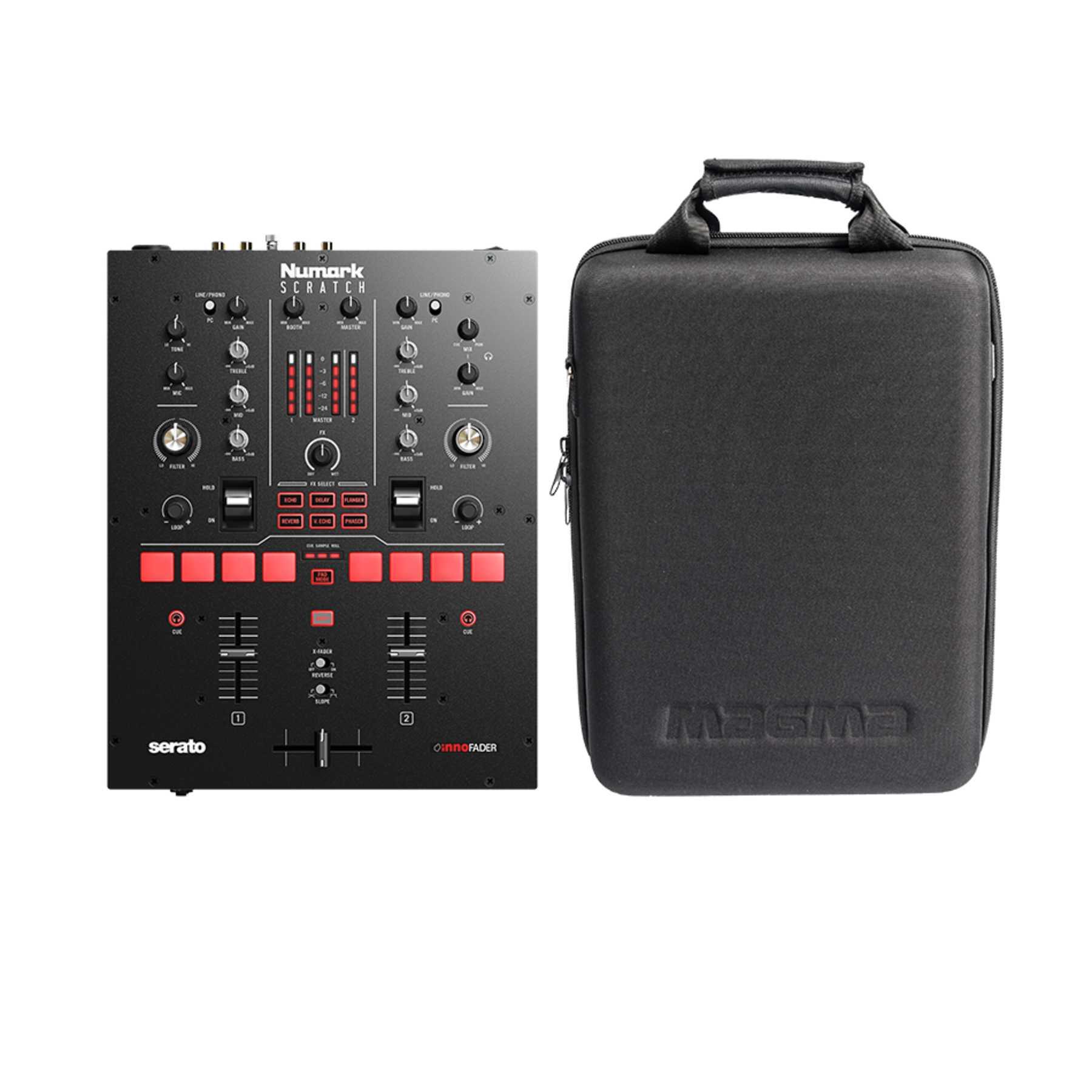 Numark Scratch + Magma CTRL Case Battle-Mixer 242994