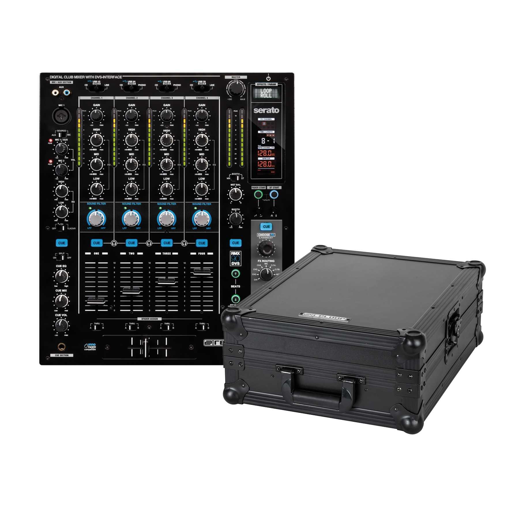 Reloop RMX-90 DVS + Mixer Case 244026
