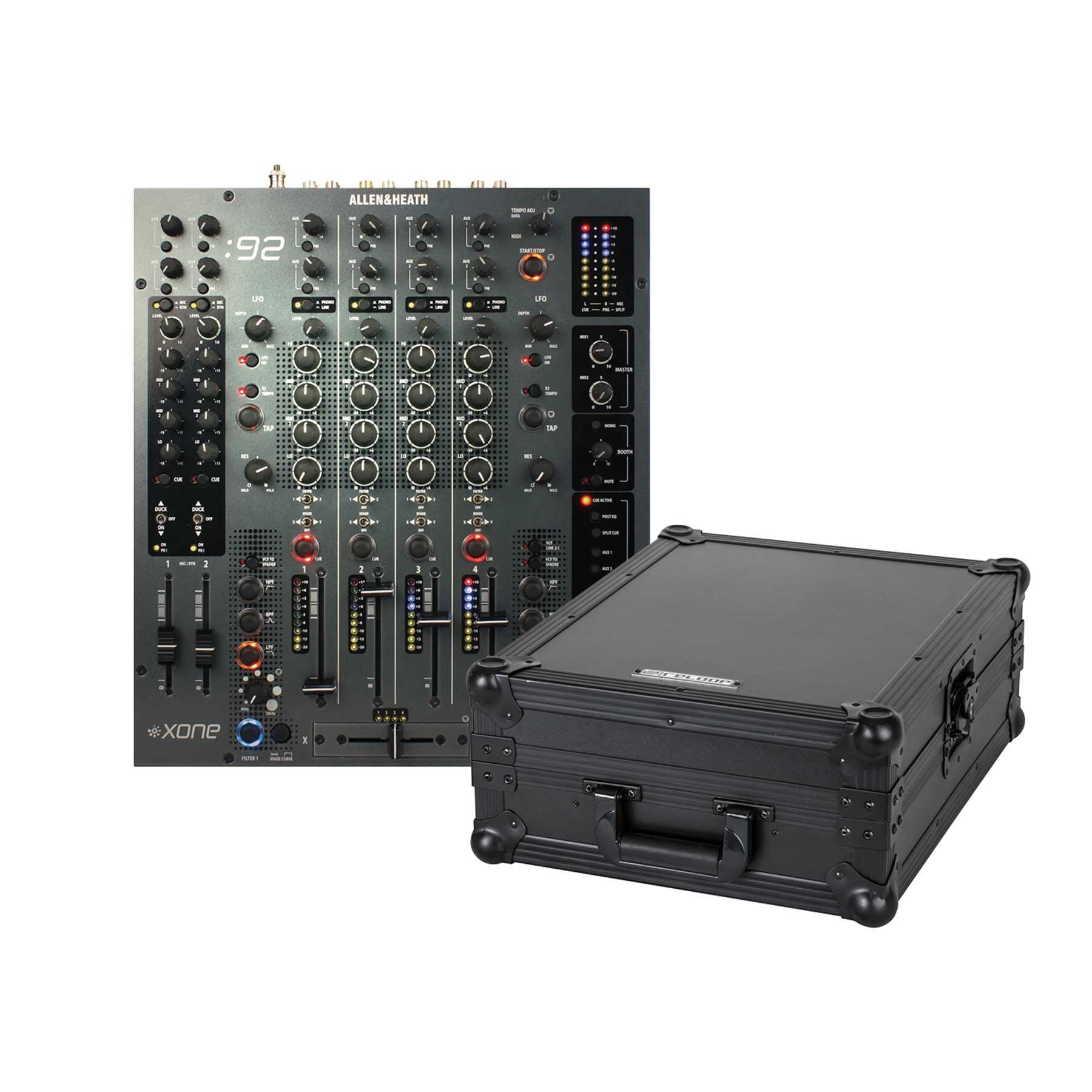 Allen & Heath Xone 92 + Reloop Mixer Case 244028