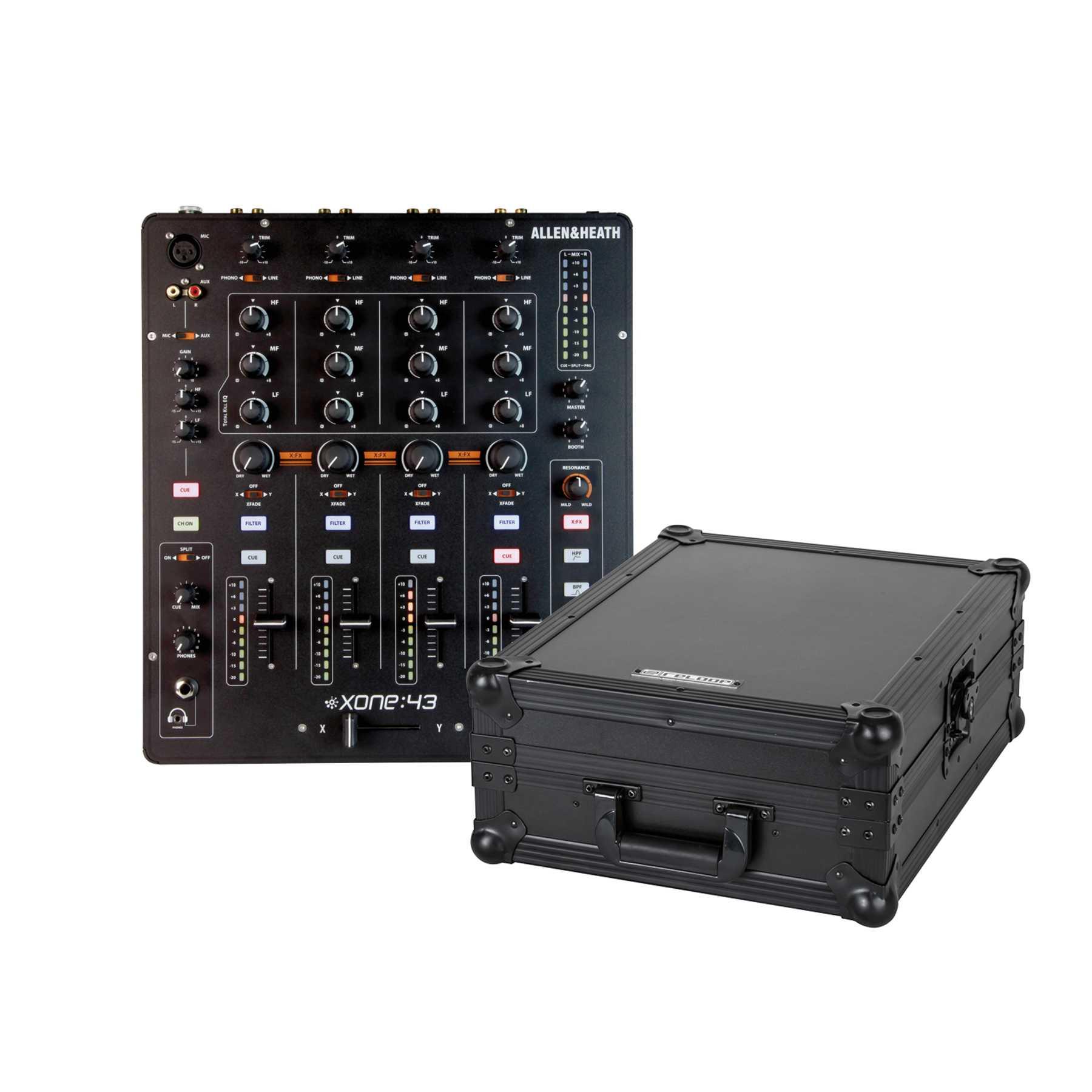 Allen & Heath Xone 43 + Reloop Mixer Case 244031