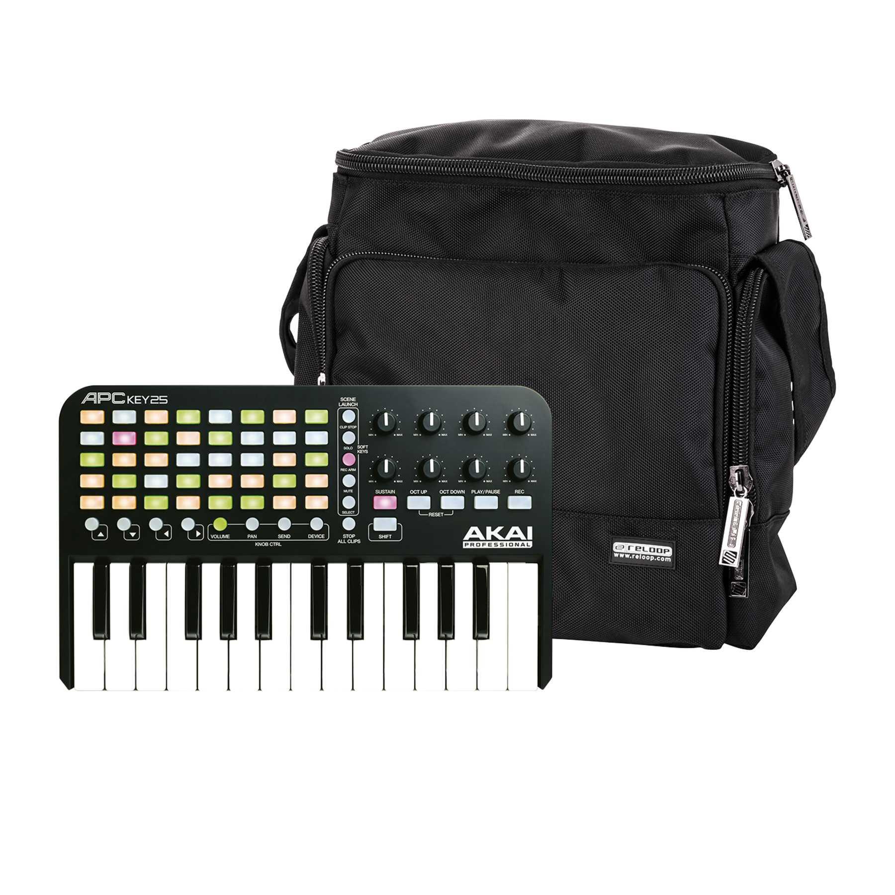 Akai Professional APC Key 25 + Reloop Laptop Bag 244044