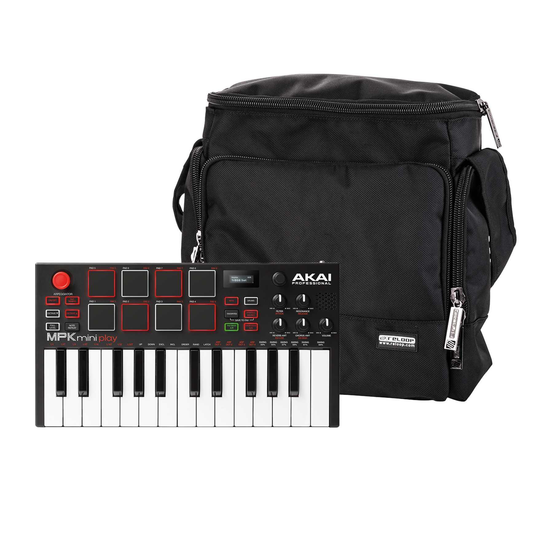 Akai Professional MPK Mini Play + Reloop Laptop Bag 244045