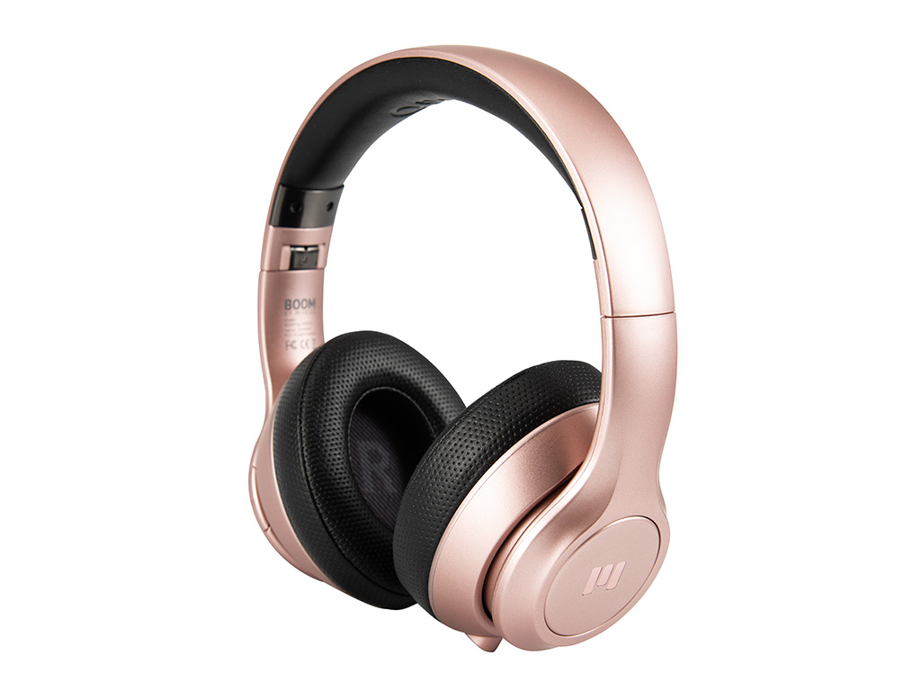 MIIEGO BOOM Premium Wireless On-Ear Kopfhörer Rose Gold Pure 244057