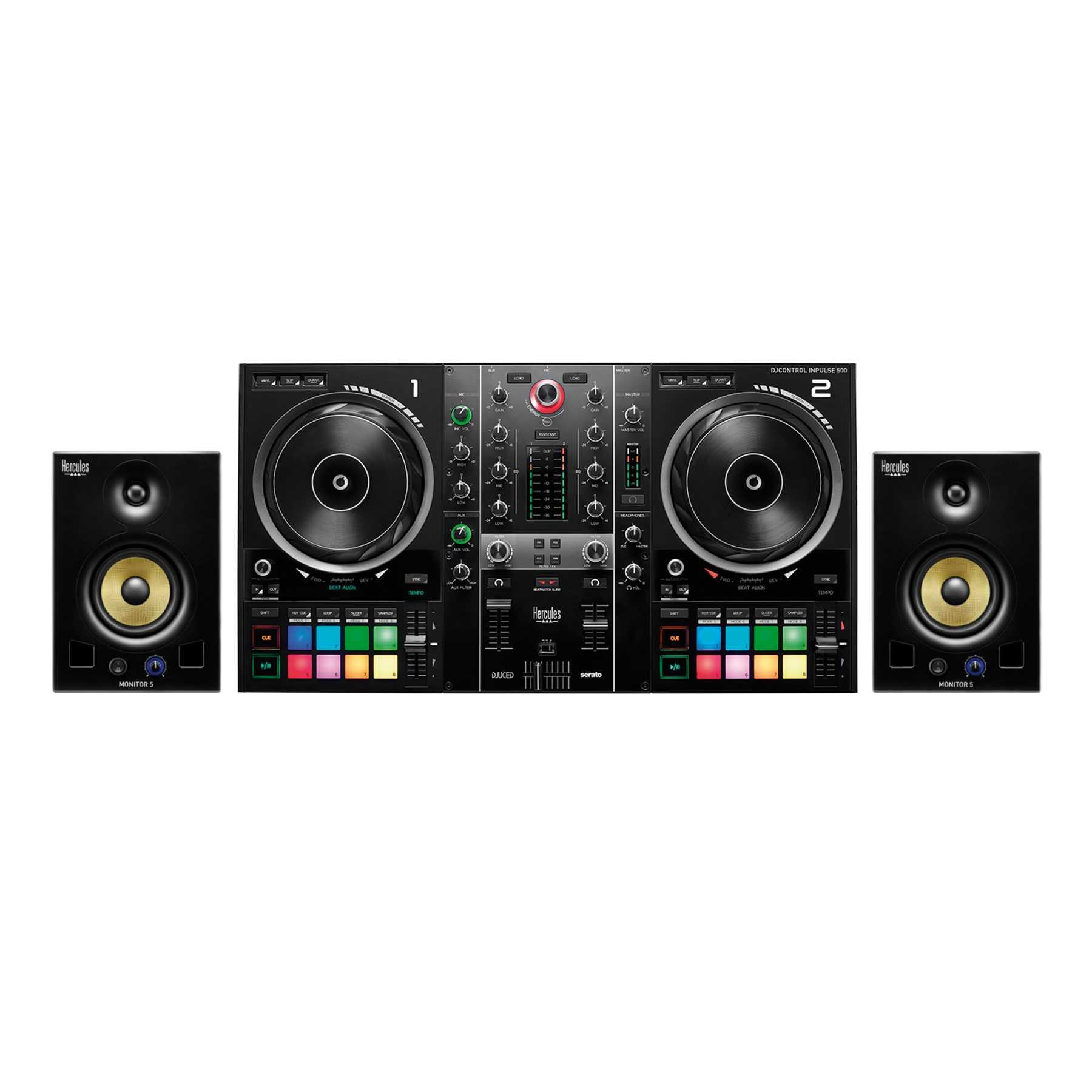 Hercules DJControl Inpulse 500 + DJ Monitor 5 244370