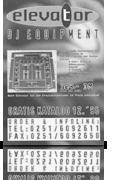 Elevator Katalog 1995